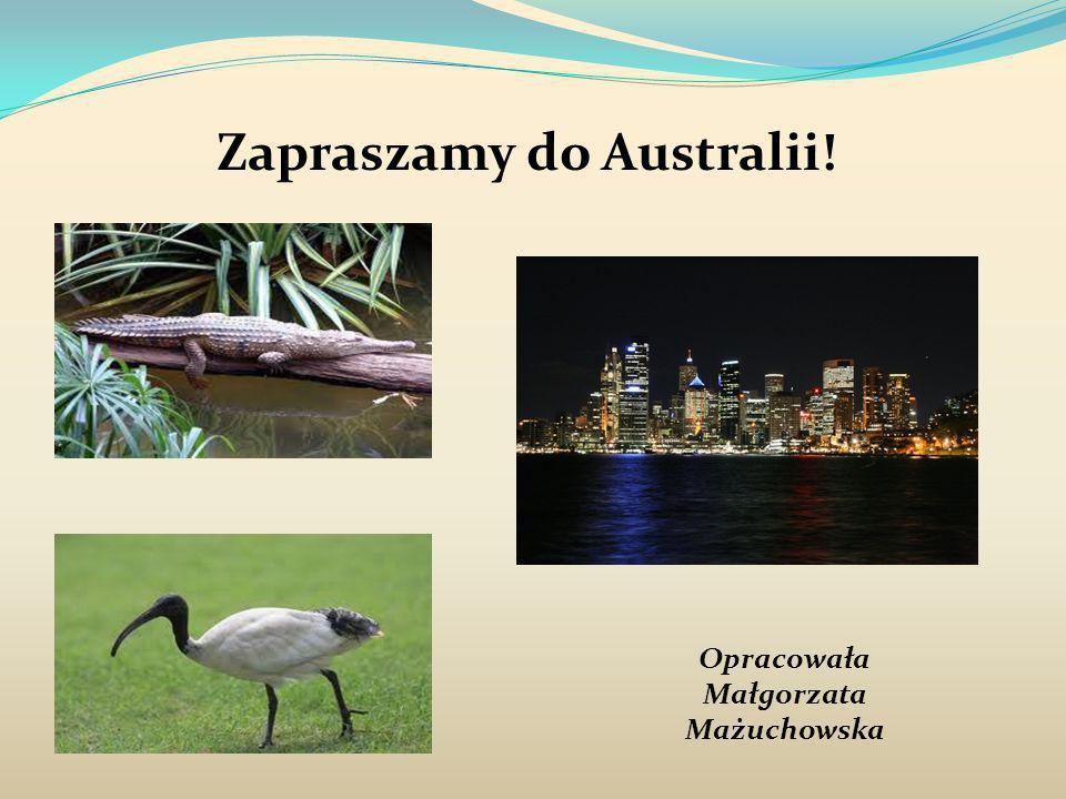 Zapraszamy do Australii!