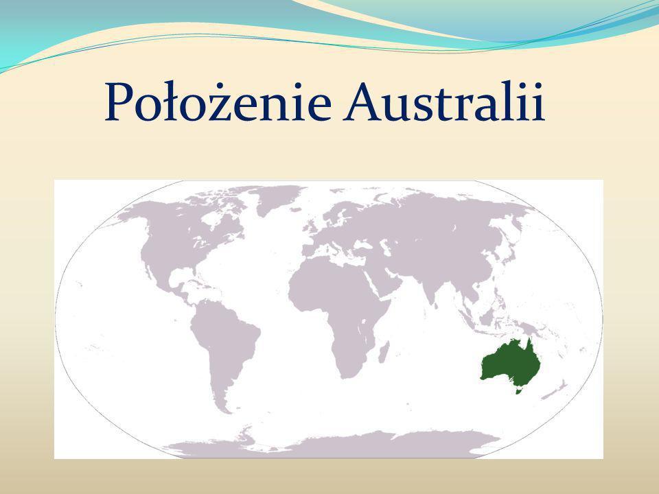 Położenie Australii