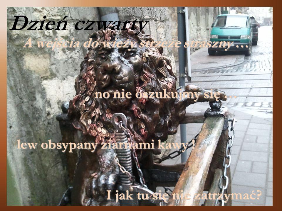 A wejścia do wieży strzeże straszny …