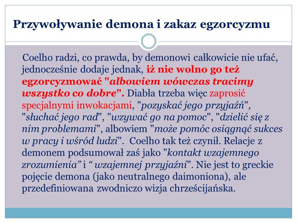 Przywoływanie demona i zakaz egzorcyzmu