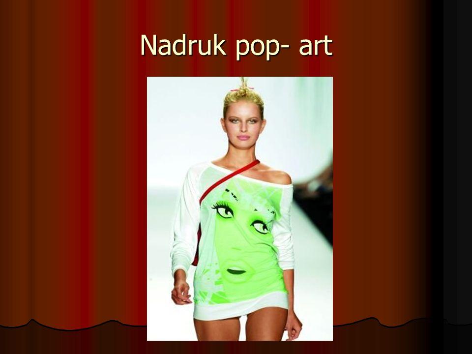 Nadruk pop- art