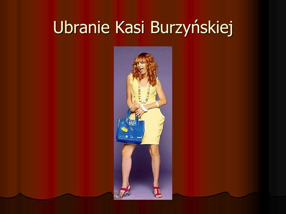 Ubranie Kasi Burzyńskiej