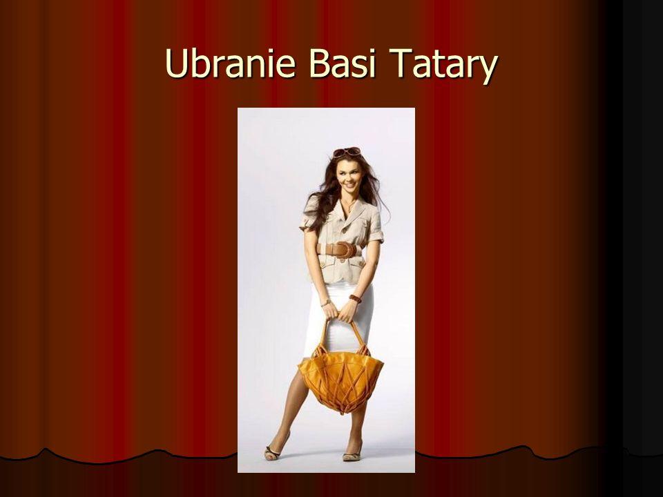Ubranie Basi Tatary