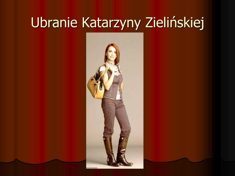 Ubranie Katarzyny Zielińskiej