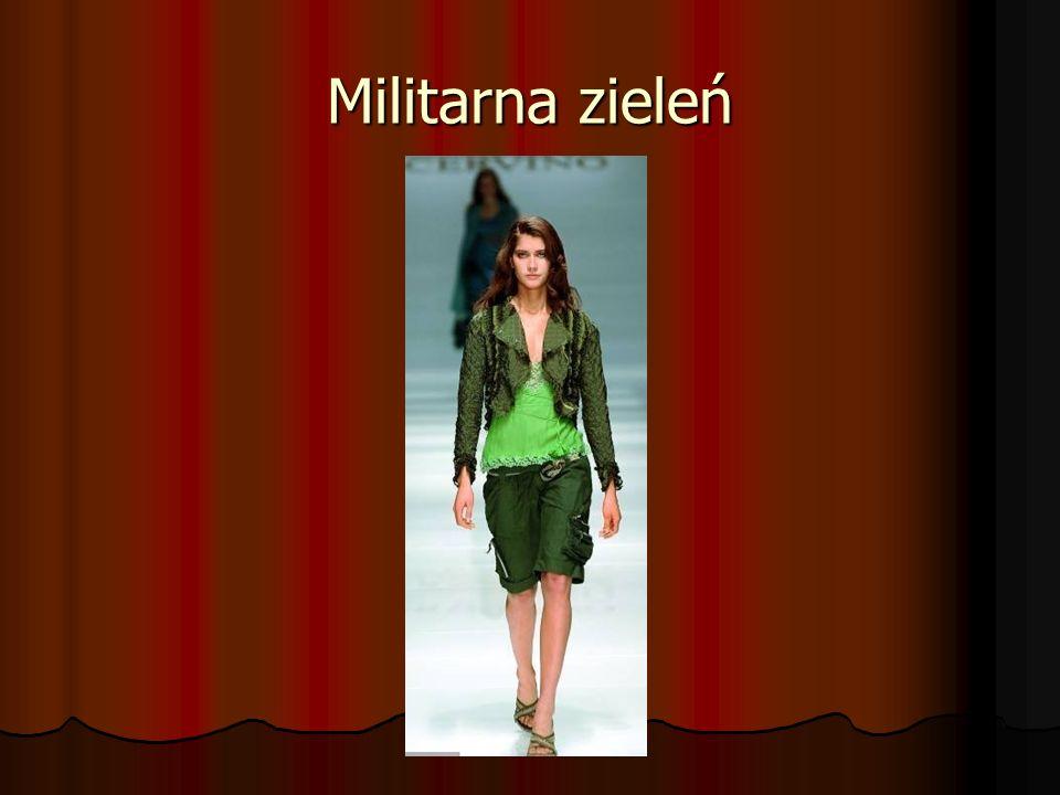 Militarna zieleń