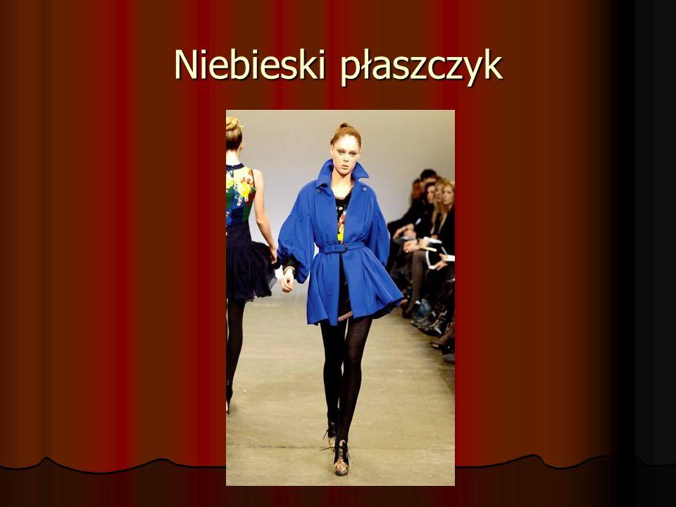 Niebieski płaszczyk