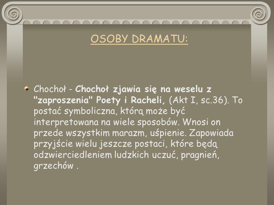 OSOBY DRAMATU: