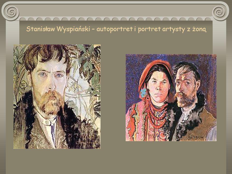 Stanisław Wyspiański – autoportret i portret artysty z żoną