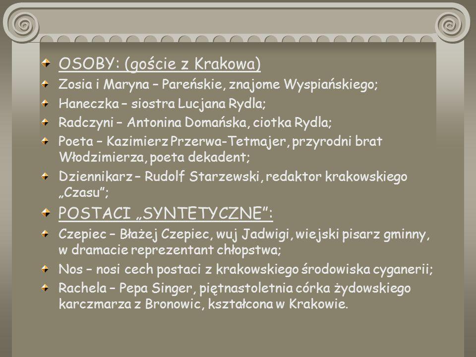 OSOBY: (goście z Krakowa)