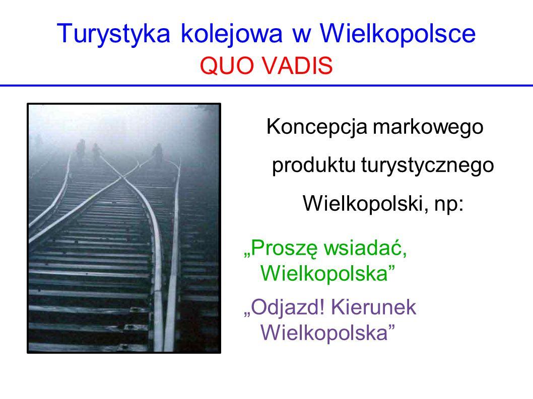Turystyka kolejowa w Wielkopolsce QUO VADIS