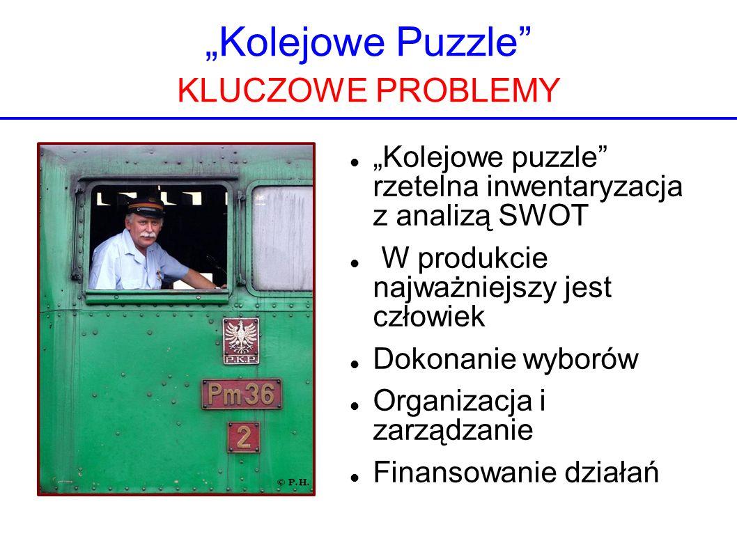 """""""Kolejowe Puzzle KLUCZOWE PROBLEMY"""