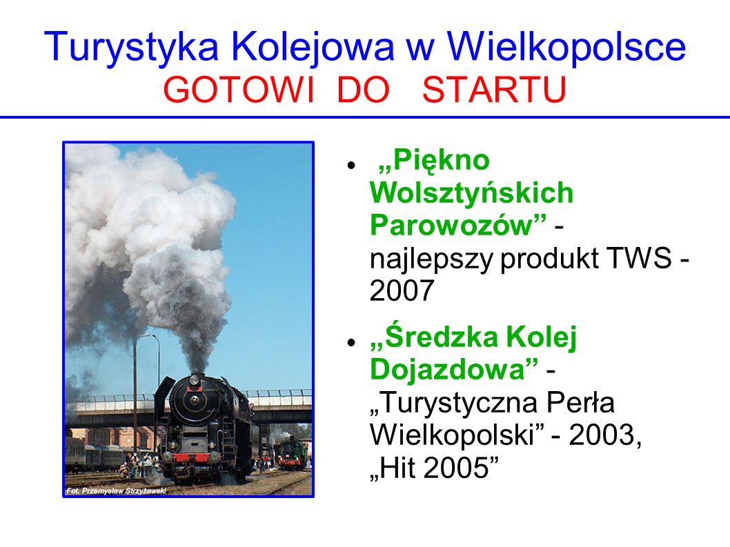 Turystyka Kolejowa w Wielkopolsce GOTOWI DO STARTU