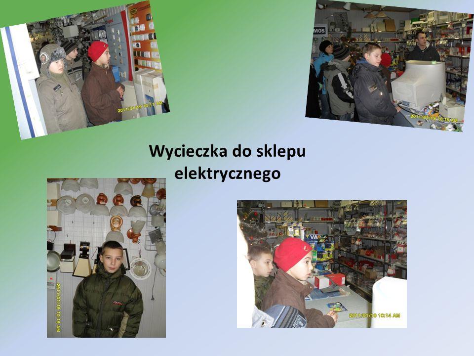 Wycieczka do sklepu elektrycznego