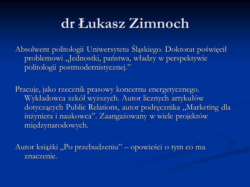 dr Łukasz Zimnoch