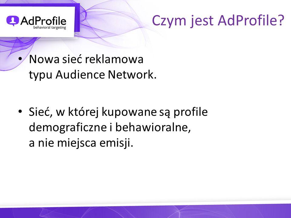 Czym jest AdProfile Nowa sieć reklamowa typu Audience Network.
