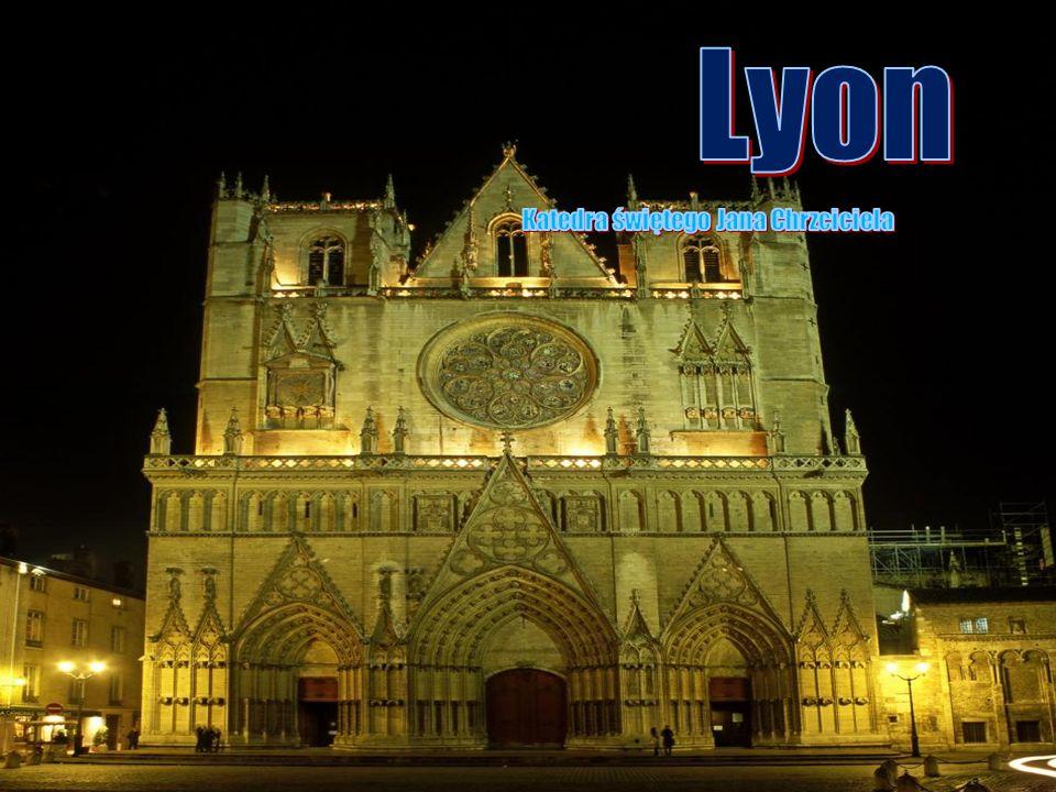 Lyon Katedra świętego Jana Chrzciciela