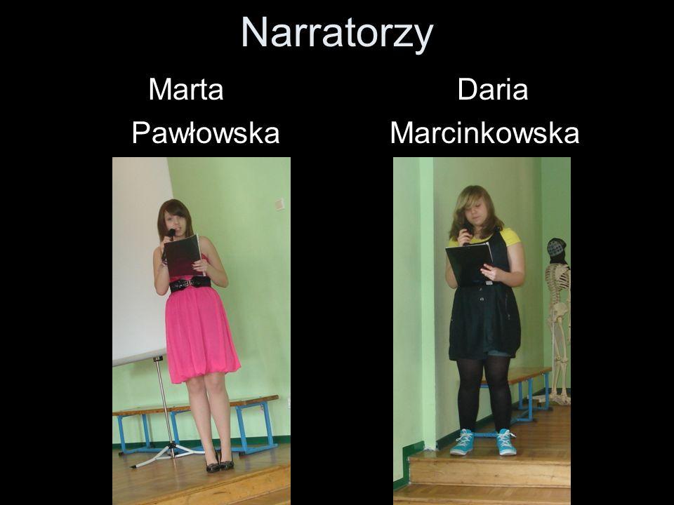 Narratorzy Marta Daria Pawłowska Marcinkowska