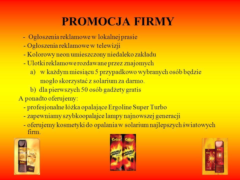 PROMOCJA FIRMY - Ogłoszenia reklamowe w telewizji