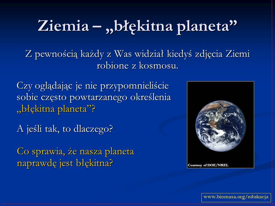 "Ziemia – ""błękitna planeta"