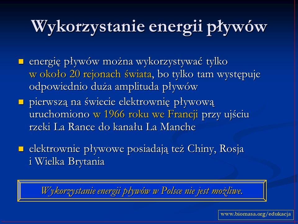 Wykorzystanie energii pływów
