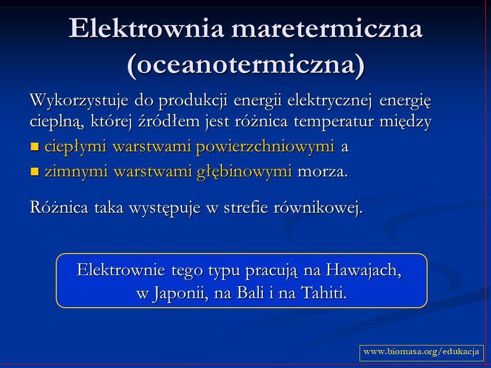 Elektrownia maretermiczna (oceanotermiczna)