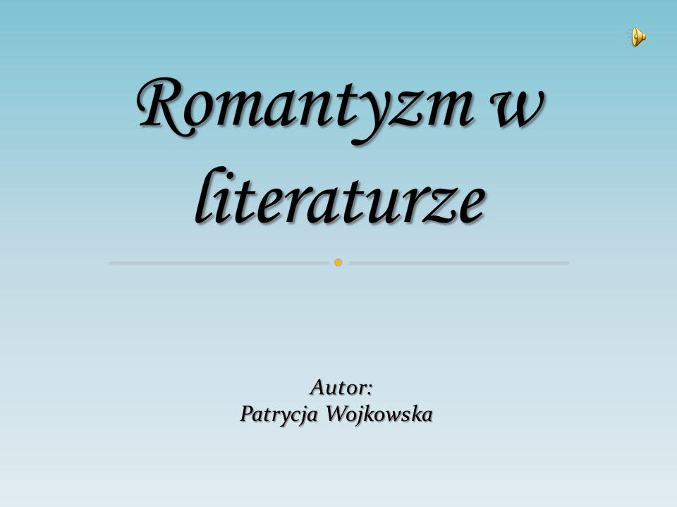 Romantyzm w literaturze