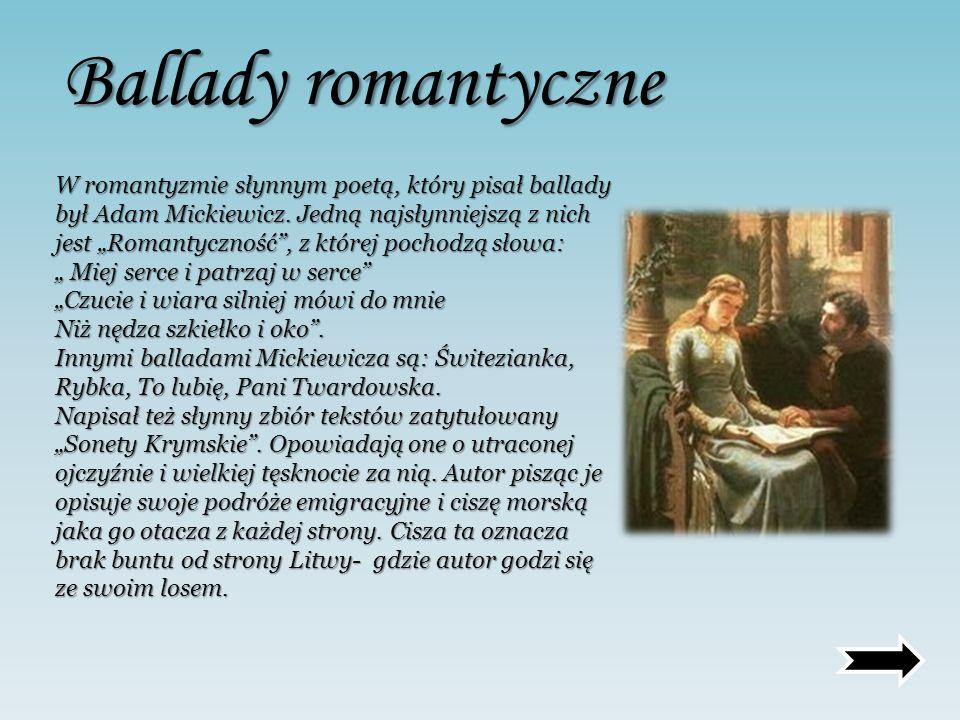 Ballady romantyczne