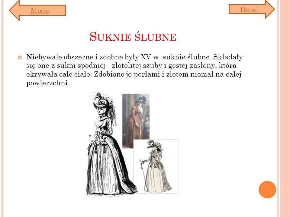 Suknie ślubne Moda Dalej