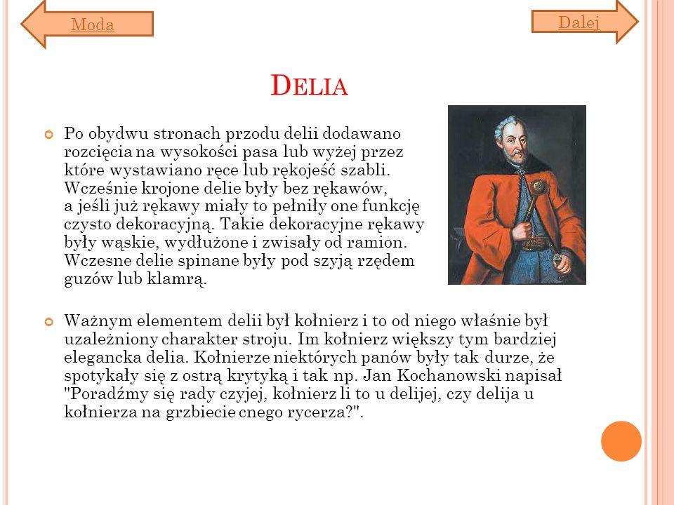 Moda Dalej. Delia.