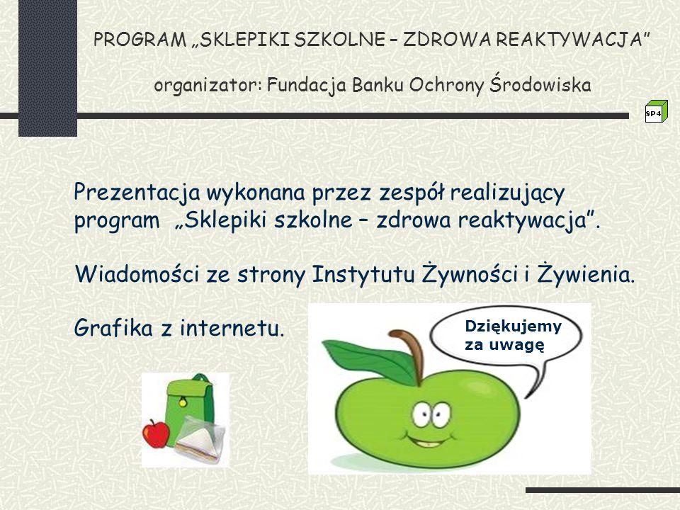 Wiadomości ze strony Instytutu Żywności i Żywienia.