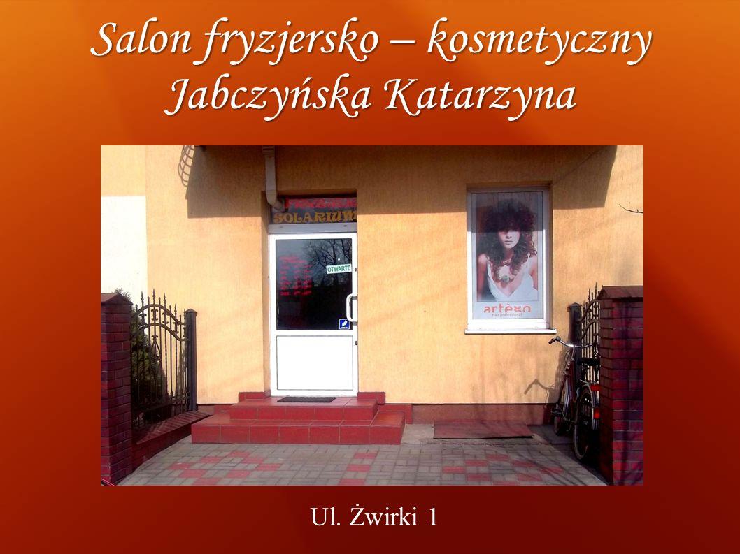Salon fryzjersko – kosmetyczny Jabczyńska Katarzyna