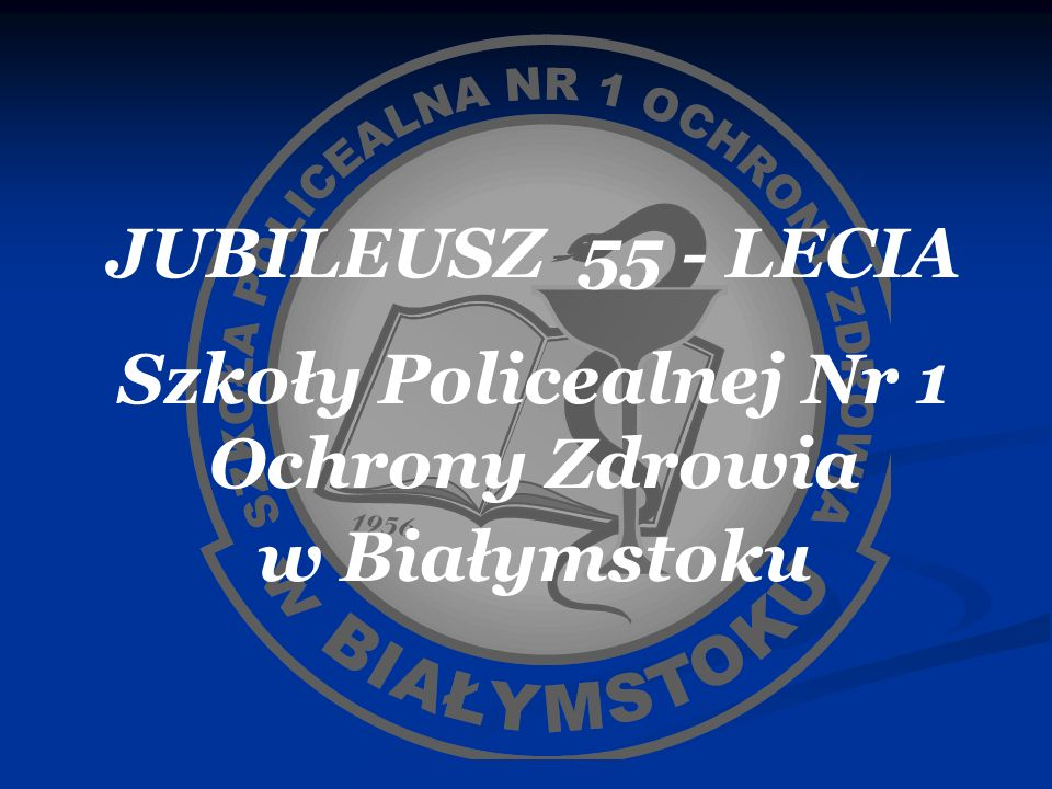 Szkoły Policealnej Nr 1 Ochrony Zdrowia
