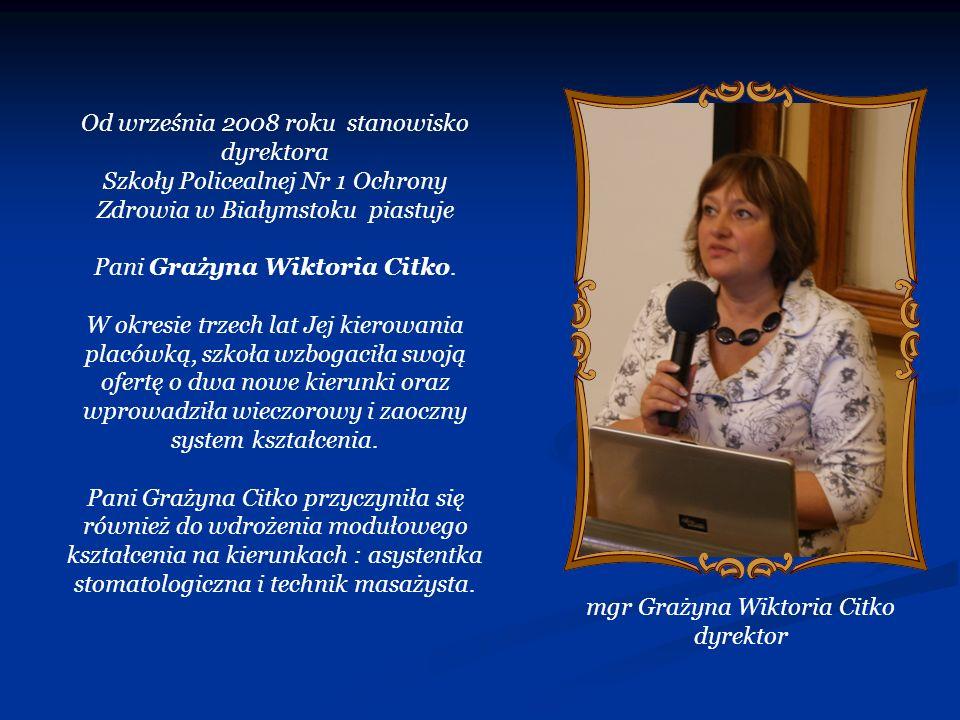 Od września 2008 roku stanowisko dyrektora