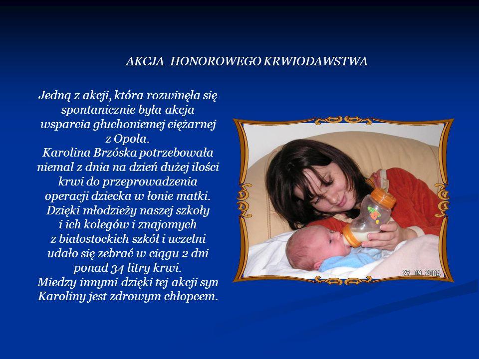 AKCJA HONOROWEGO KRWIODAWSTWA