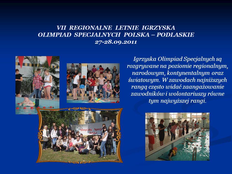 VII REGIONALNE LETNIE IGRZYSKA OLIMPIAD SPECJALNYCH POLSKA – PODLASKIE