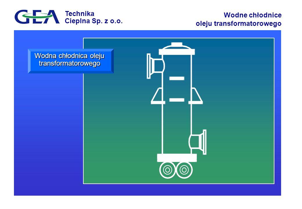 Wodna chłodnica oleju transformatorowego