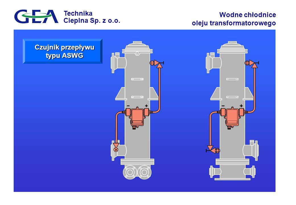Czujnik przepływu typu ASWG