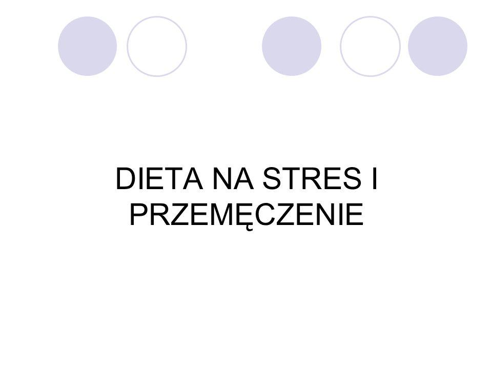 DIETA NA STRES I PRZEMĘCZENIE