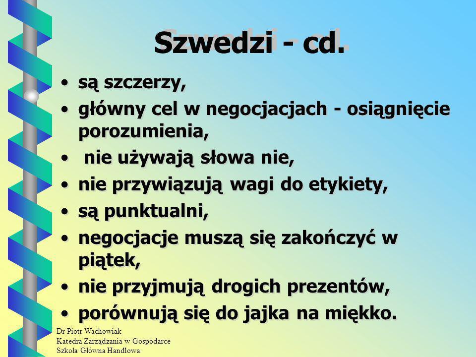 Szwedzi - cd. są szczerzy,