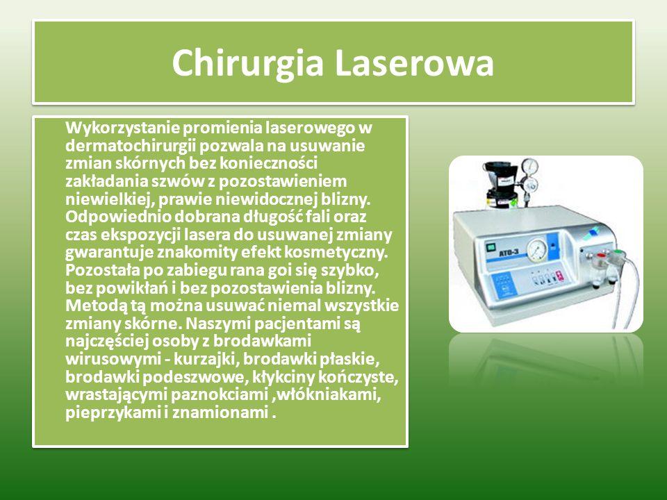 Chirurgia Laserowa