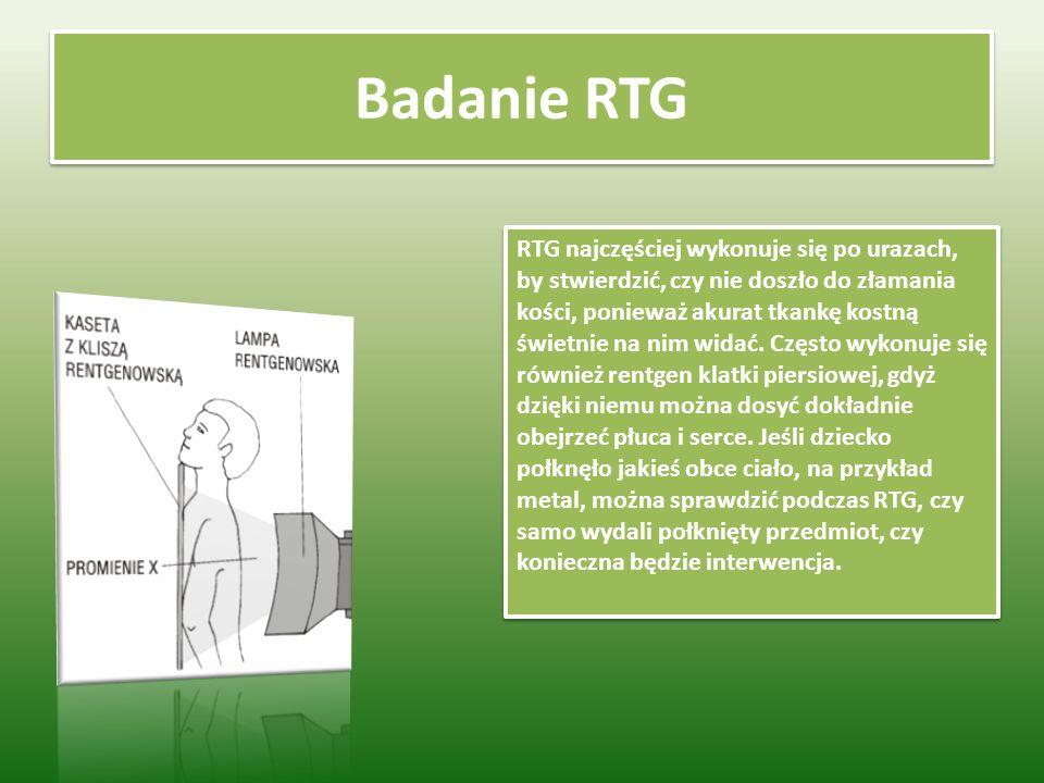 Badanie RTG