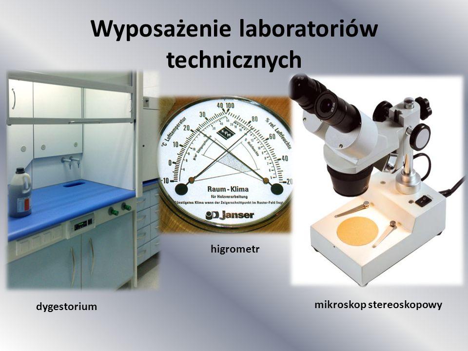 Wyposażenie laboratoriów technicznych