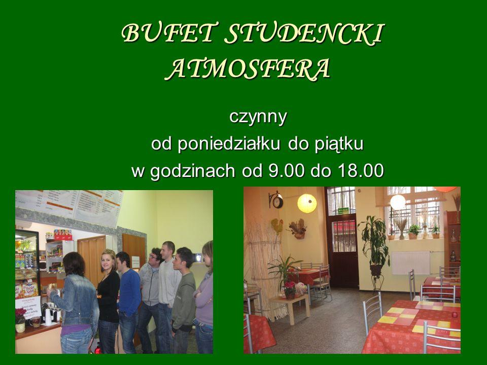 BUFET STUDENCKI ATMOSFERA