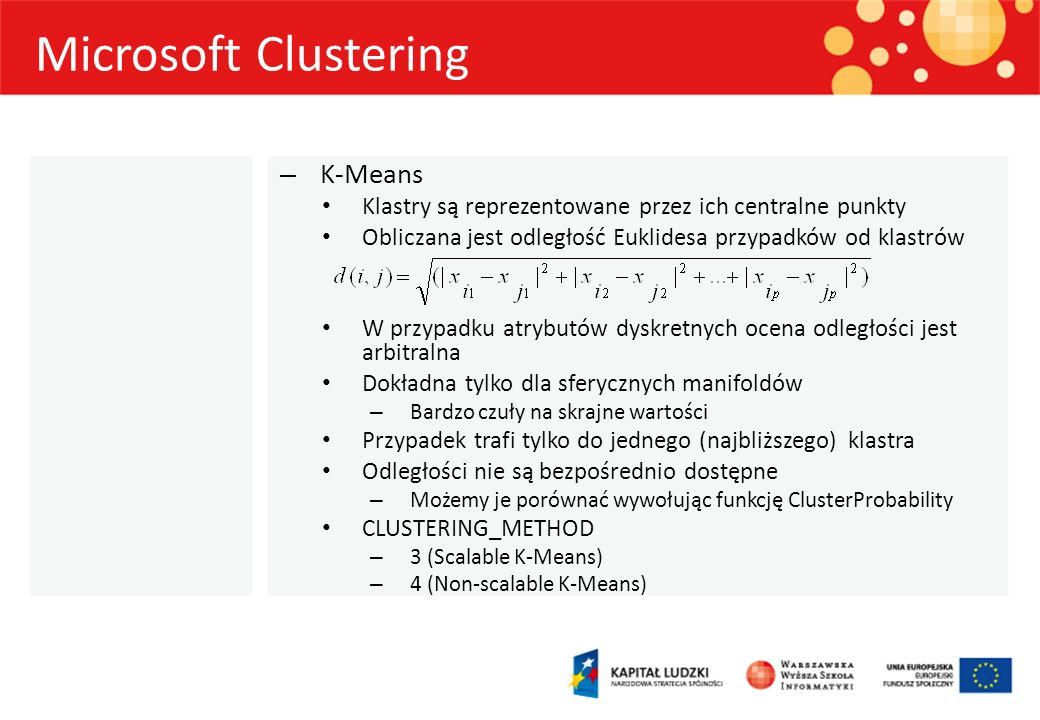 Microsoft Clustering K-Means