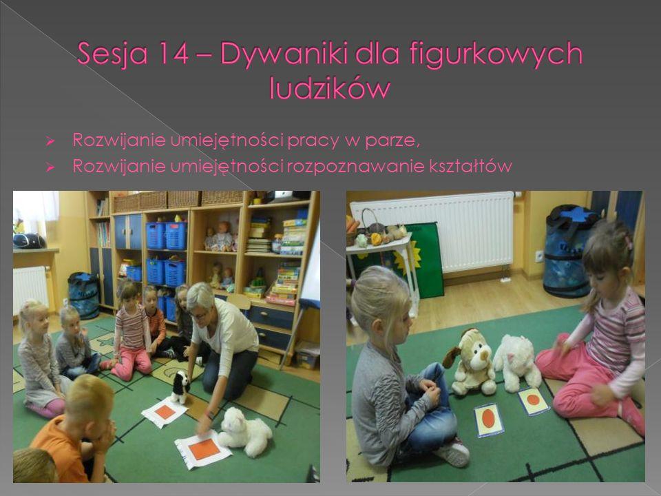 Sesja 14 – Dywaniki dla figurkowych ludzików
