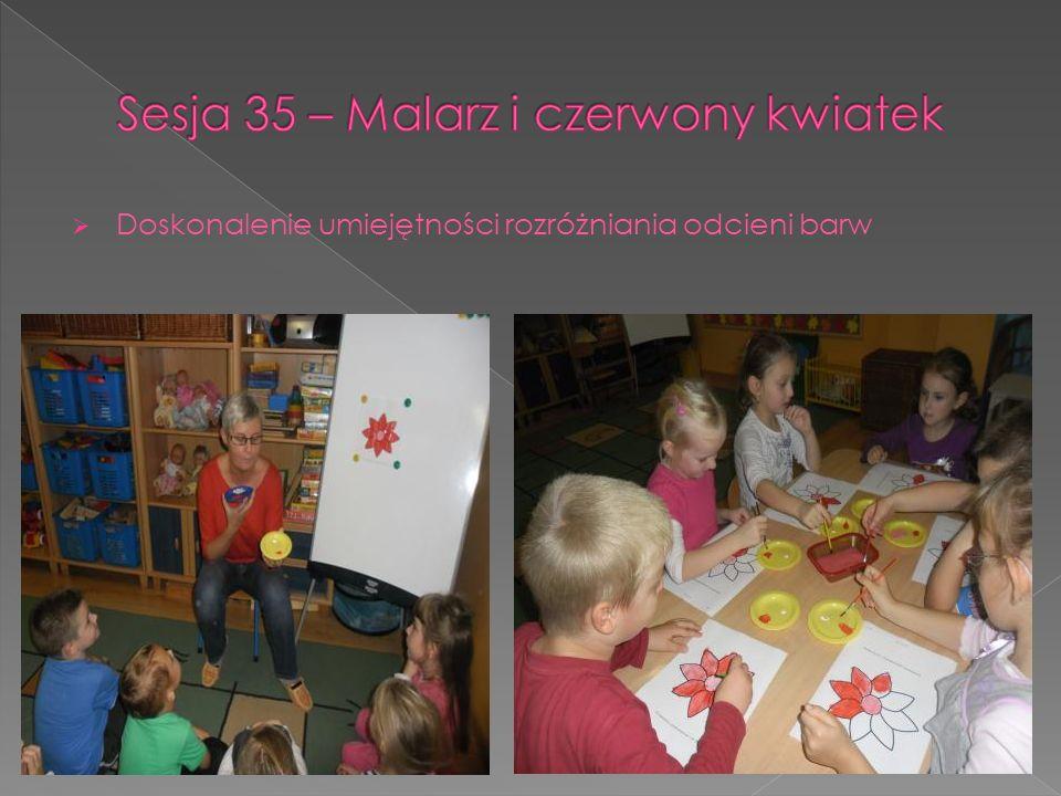 Sesja 35 – Malarz i czerwony kwiatek