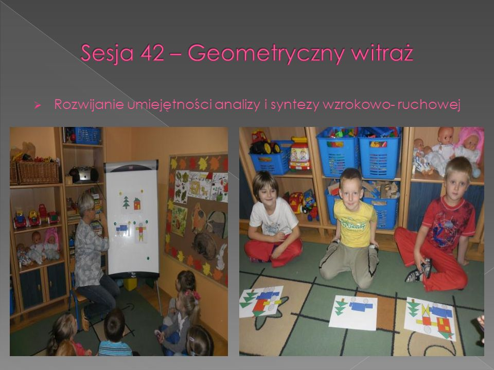 Sesja 42 – Geometryczny witraż