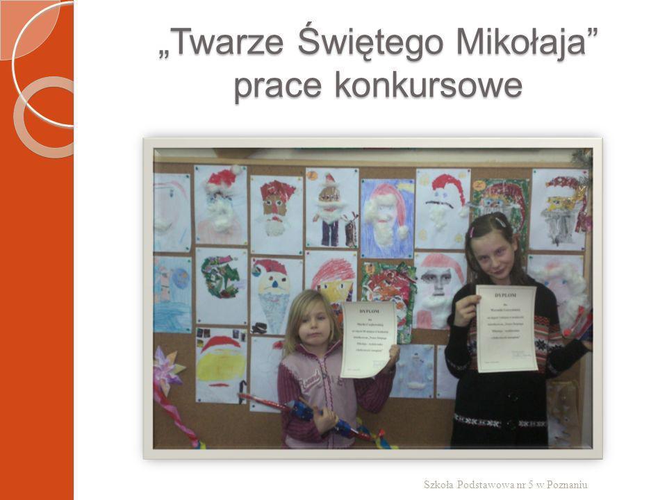 """""""Twarze Świętego Mikołaja prace konkursowe"""