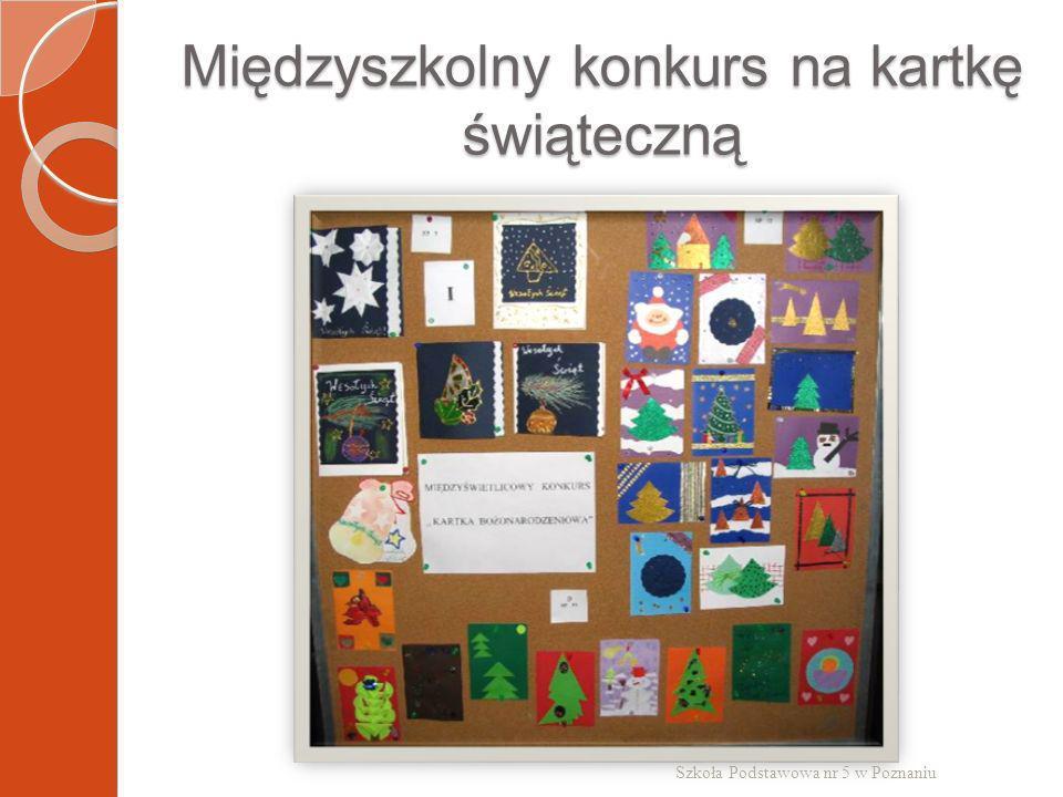 Międzyszkolny konkurs na kartkę świąteczną