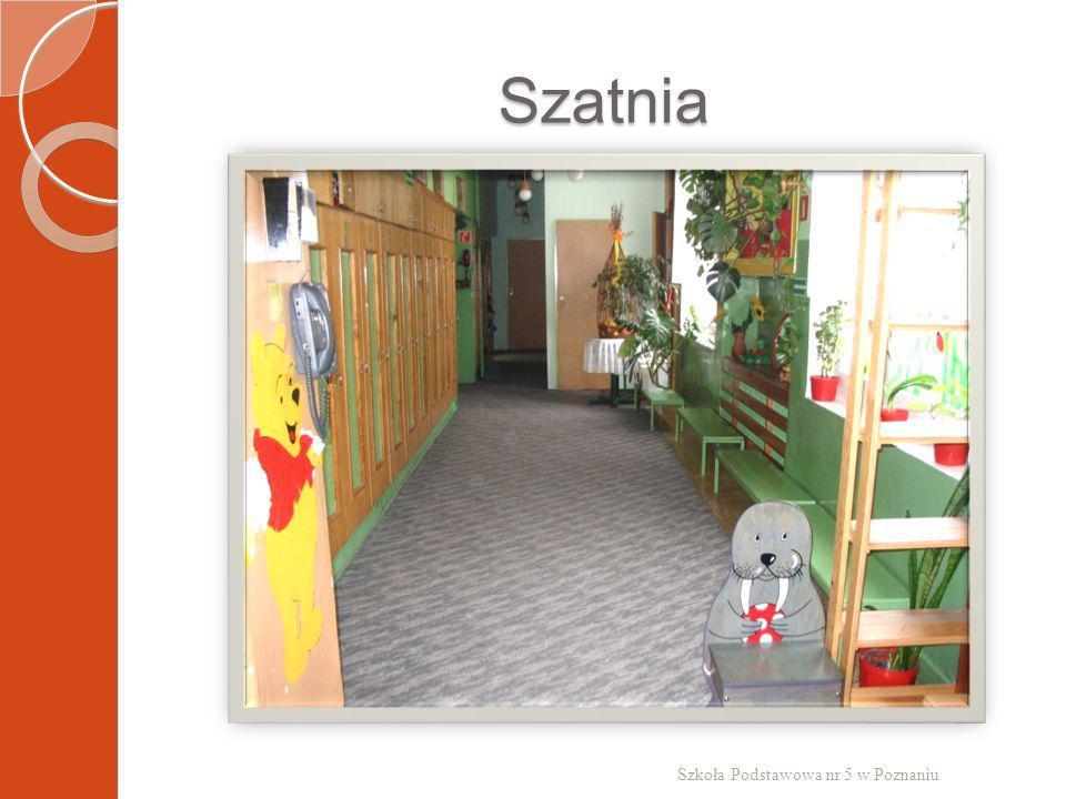 Szatnia Szkoła Podstawowa nr 5 w Poznaniu